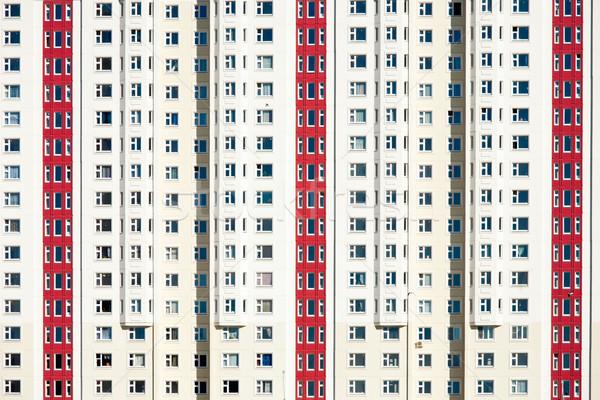 Lakás elöl Moszkva régió város építkezés Stock fotó © naumoid