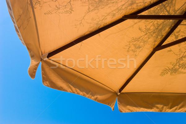 サンシェード 詳細 影 晴れた 夏 ストックフォト © naumoid