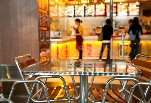 Fast food cafe Stock photo © naumoid