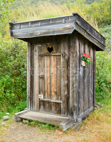 Outhouse Stock photo © naumoid