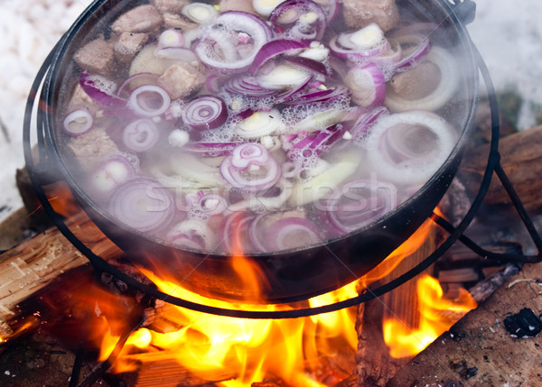 Cooking Chorba Stock photo © naumoid
