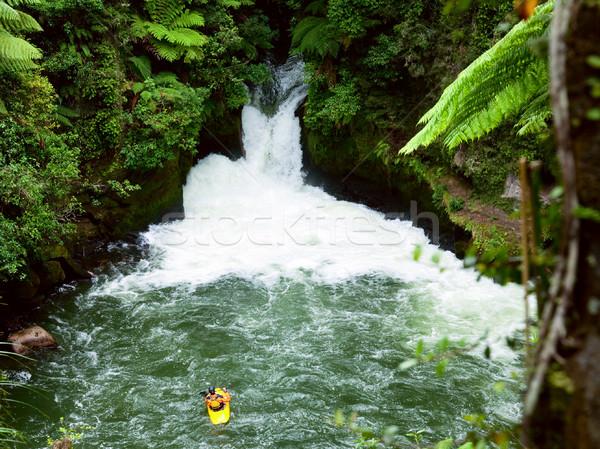 White water kayaking  Stock photo © naumoid