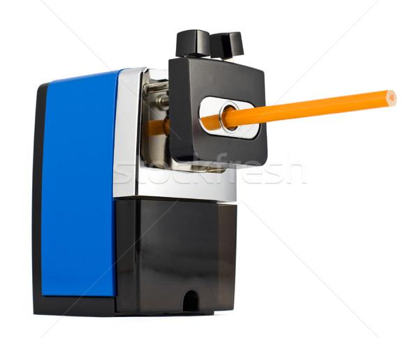 Farbują temperówka odizolowany biały biuro strony Zdjęcia stock © naumoid