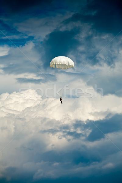 Skydiver Stock photo © naumoid