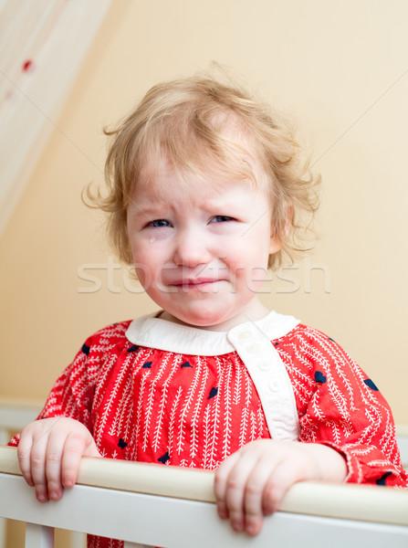 赤ちゃん 肖像 悲しい 女の子 涙 眼 ストックフォト © naumoid