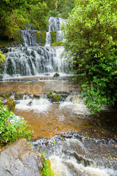 Stock photo: Purakaunui Falls