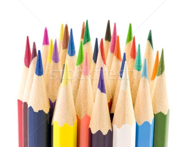 Colored pencils Stock photo © naumoid