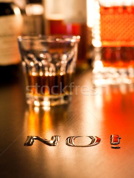 No to Alcohol Stock photo © naumoid