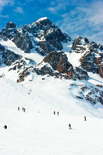 Ski slope Stock photo © naumoid
