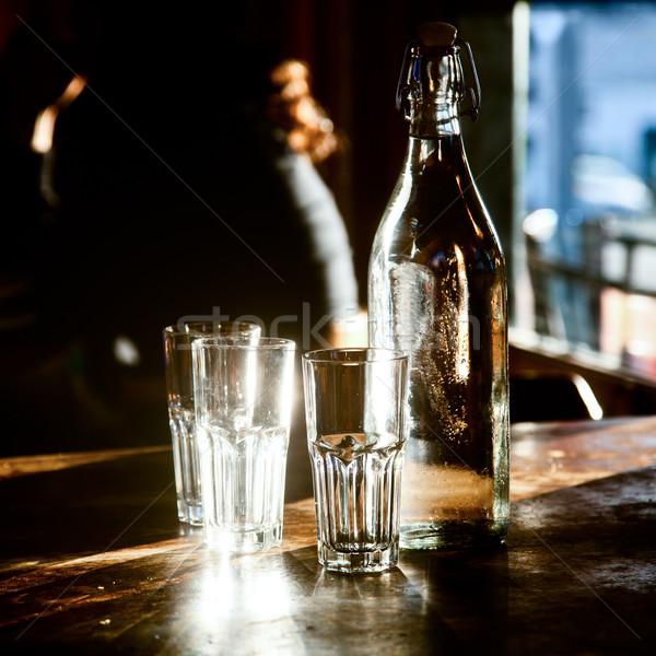Bottle of water Stock photo © naumoid