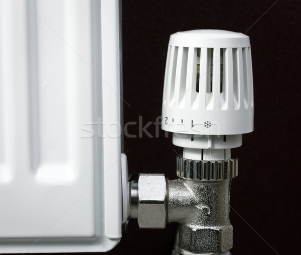 Radiator thermostat Stock photo © naumoid