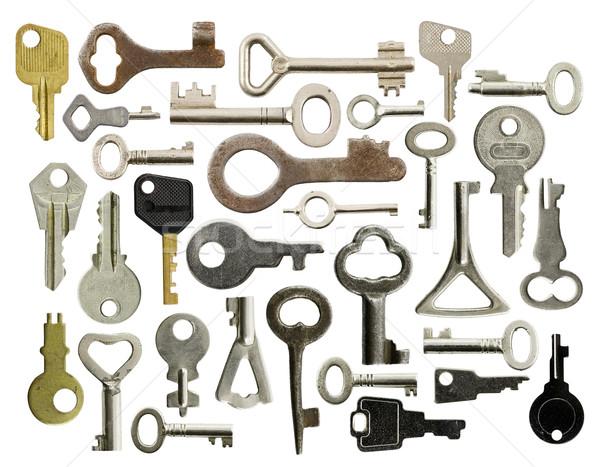 Old keys Stock photo © naumoid