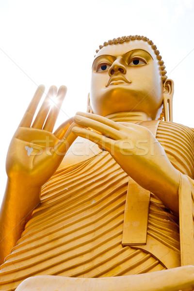 Golden Buddha Stock photo © naumoid