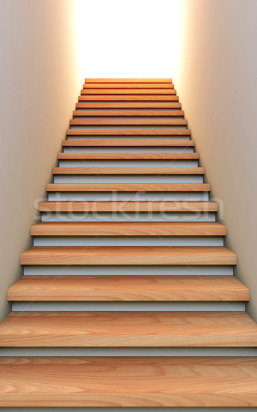 Stair to the future. Stock photo © nav