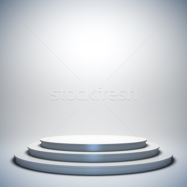White empty stage. Stock photo © nav