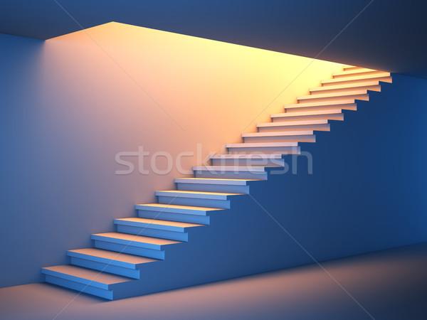 Ctair to the future. Stock photo © nav