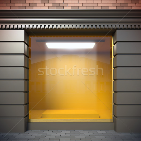 Empty showcase. Stock photo © nav