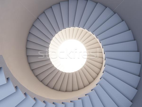 Stair to the future. Stock photo © nav