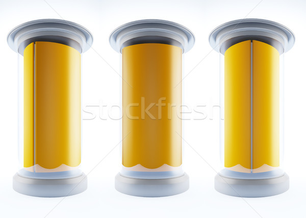 blank template pillars. Stock photo © nav