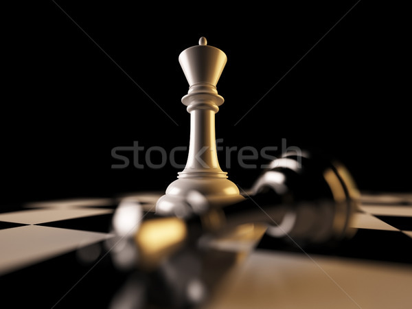 Checkmate Stock photo © nav