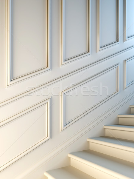 Classical staircase. Stock photo © nav