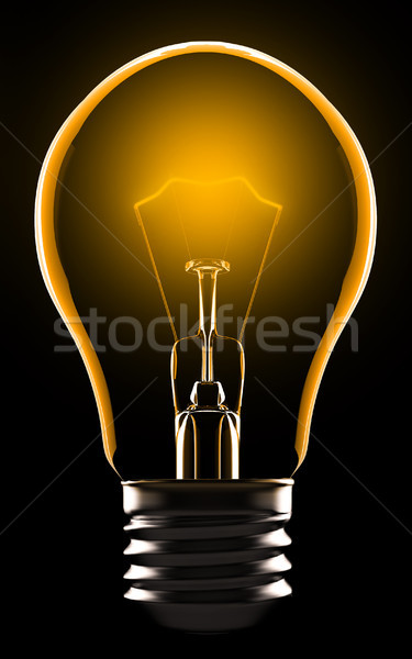 Electric lamp Stock photo © nav