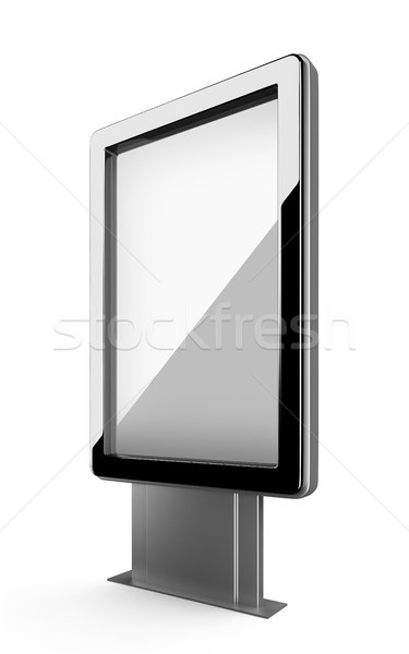 stand for advertisement. Stock photo © nav
