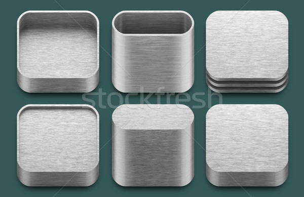 App icons for iphone and ipad applications. Stock photo © nav