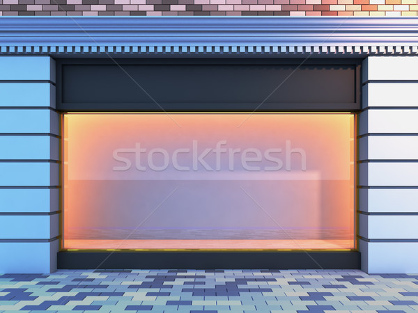 Classical empty storefront . Stock photo © nav