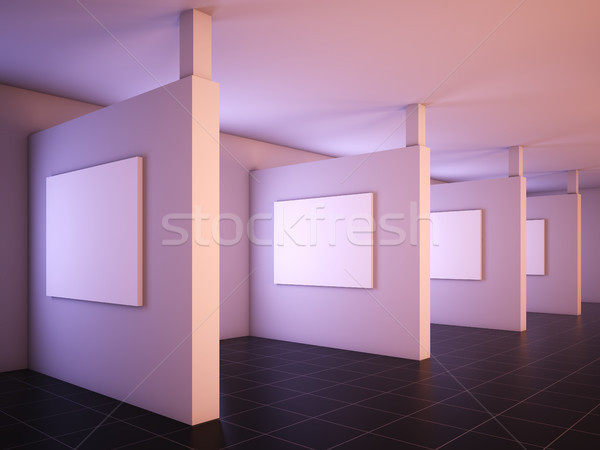 Modern gallery of art. Stock photo © nav