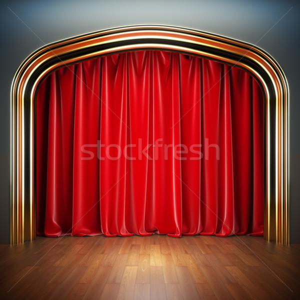 Empty stage. Stock photo © nav