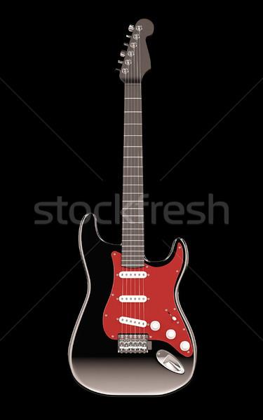 electro guitar Stock photo © nav