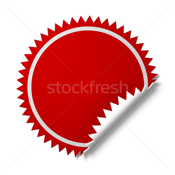 Sticker for promotion. Stock photo © nav