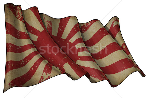 Japan's Imperial Navy Historic Flag Stock photo © nazlisart