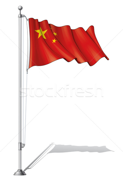 Flag Pole China