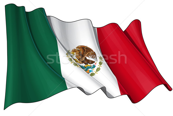 Flag of Mexico Stock photo © nazlisart