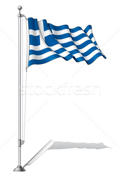 Flag Pole Greece