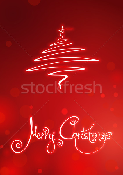 Merry Christmas Card Stock photo © nazlisart