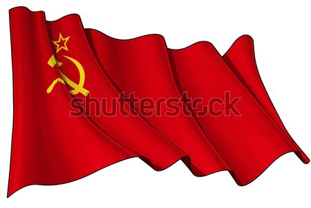 Soviet Union flag Stock photo © nazlisart
