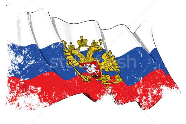 Grange State Flag of Russia Stock photo © nazlisart