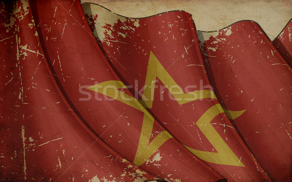 Red Army Old Paper Stock photo © nazlisart