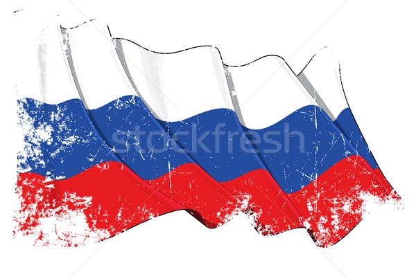 Grange National Flag of Russia Stock photo © nazlisart