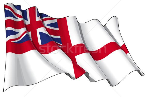 British Naval Ensign (Flag) Stock photo © nazlisart