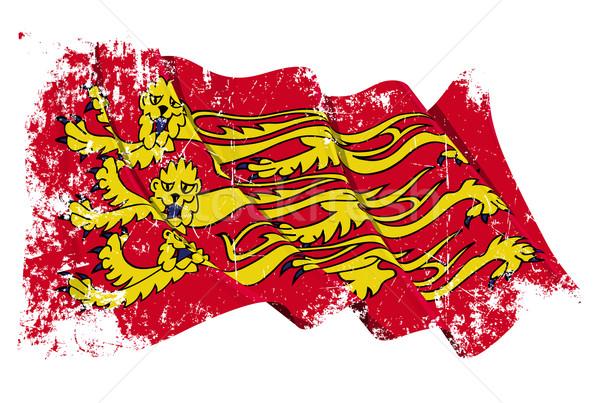 Grunge English Royal Banner Stock photo © nazlisart