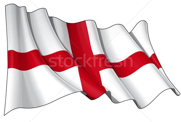 Flag of England Stock photo © nazlisart