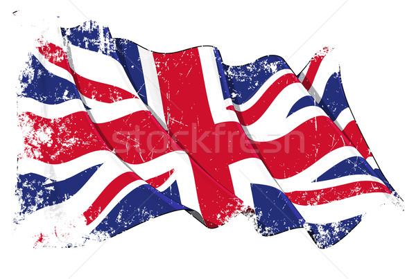 Grange Flag of UK Stock photo © nazlisart