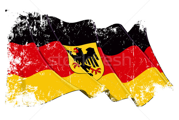 Grange State Flag of Germany Stock photo © nazlisart
