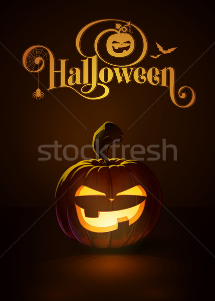Jack-o-Lantern Dark Mean Stock photo © nazlisart