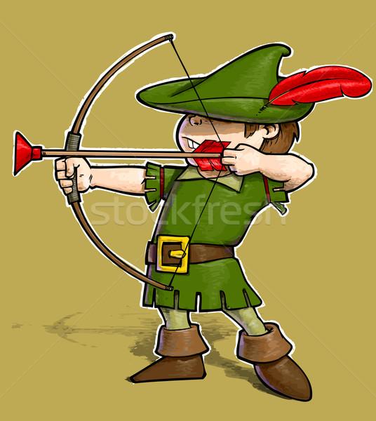 Robin Hood  Stock photo © nazlisart