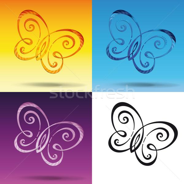 Butterfly Symbol Stock photo © nazlisart